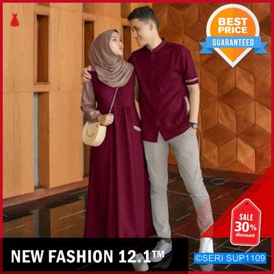 SUP1109F28 Farel Couple Muslim Couple Terlaris R BMGShop