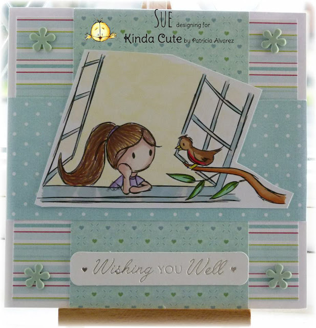 good wishes handmade card