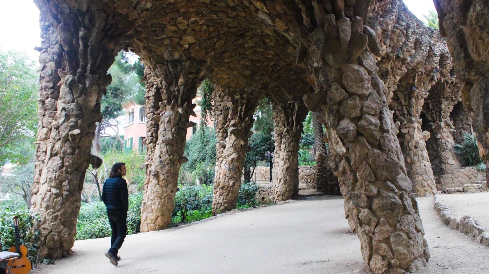 Barcleona Getaway Park Guell