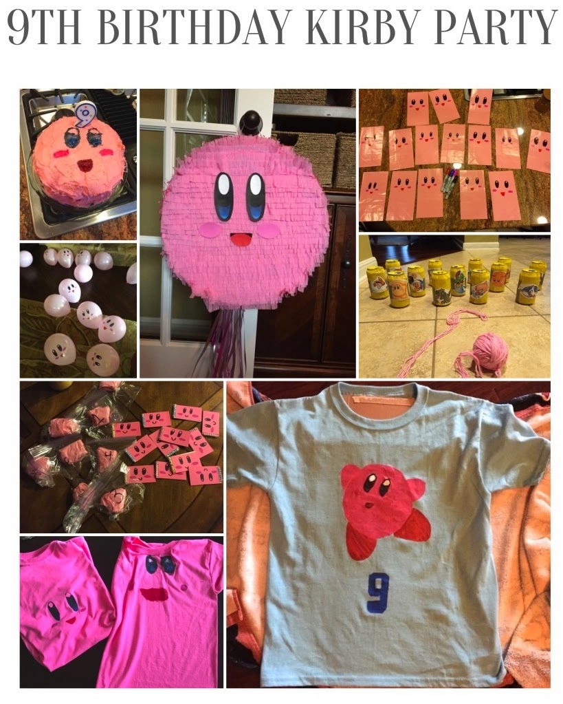 Keitha's Chaos: 9th Birthday Kirby Party