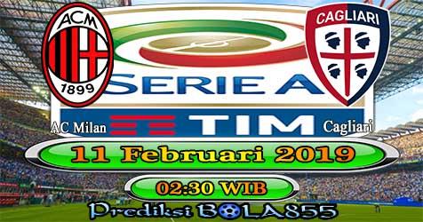 Prediksi Bola855 AC Milan vs Cagliari 11 Februari 2019