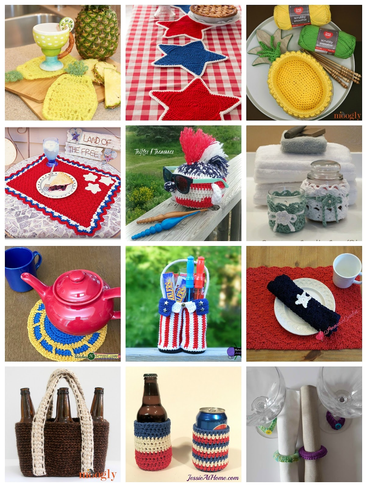 CGOA Now!: 12 (Mostly Free) Crochet Patterns for a Summer Gathering