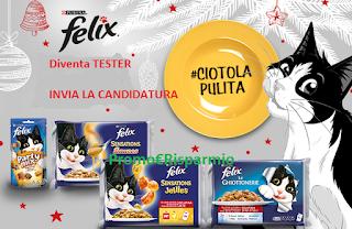 Logo #Ciotola Pulita. Con Felix diventi testimonial e ricevi prodotti