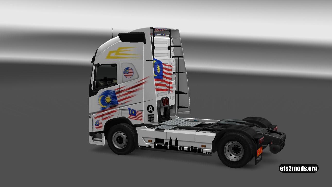 Volvo 2012 Malaysian Skin