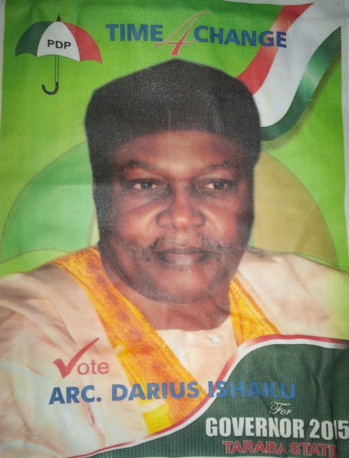 taraba governorship election 2015 results