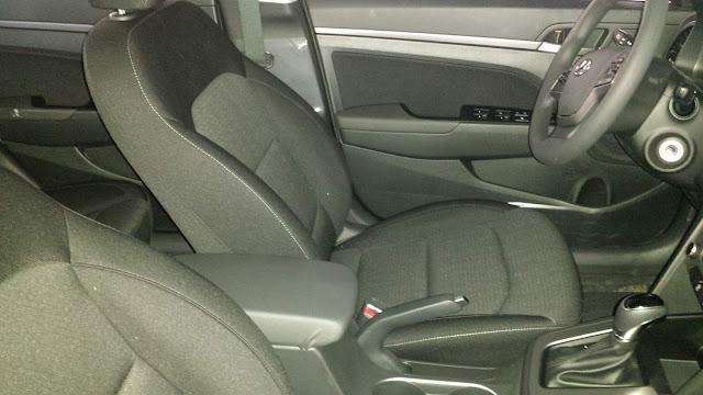 New Hyundai Elantra 2017 - interior