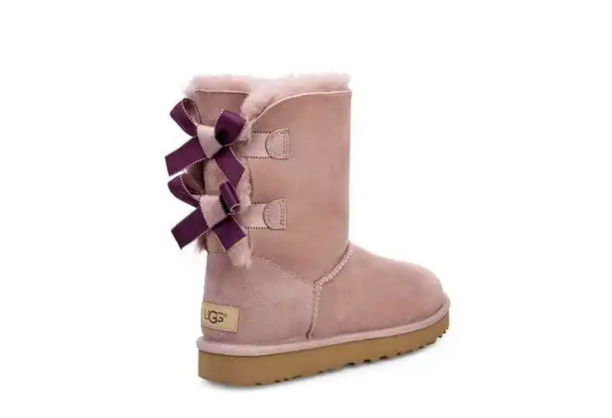 6c39be35cbb lifestyle: LAST DAY UGG AUSTRALIA BAILEY BOW SHIMMER ON SALE IN DUSK ...