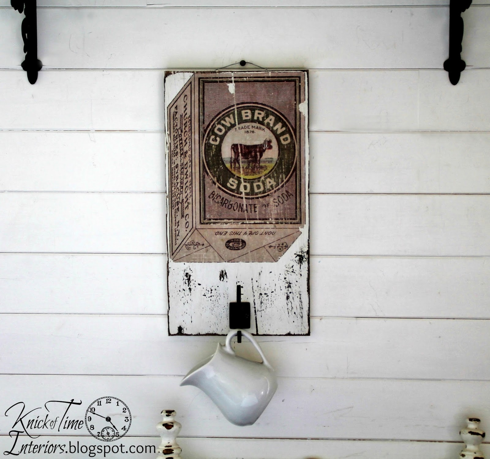 Free Printables - Antique Cow Image Advertisement Transfer Projects