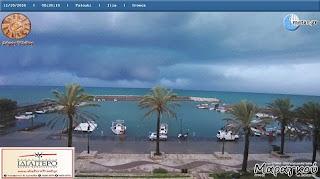 Ηλεία: Ισχυρή καταιγίδα πλήττει περιοχές...