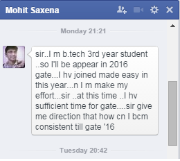 GATE Preparation Tips, Engineering Students