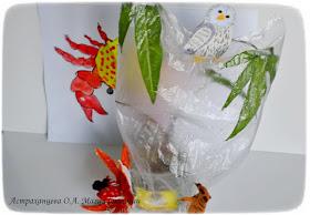 опыт по испарению воды устьицами листа, пальчиковый театр, сова, осьминог, сурикат