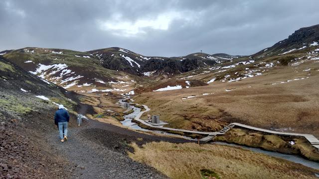 Hveragerdi, Islandia, gorące źródła