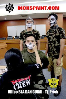 Face Painting Skull Jakarta