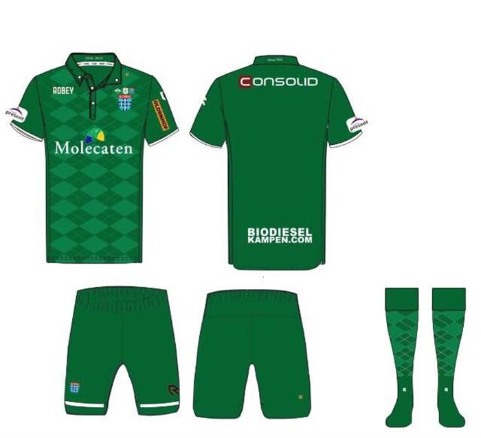 Sports Shirts Pec Zwolle Shirts From Season 2016 2017