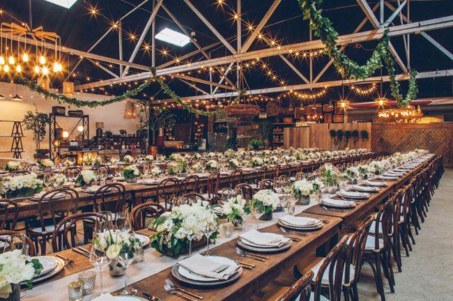 Resultado de imagen para decoracion industrial bodas