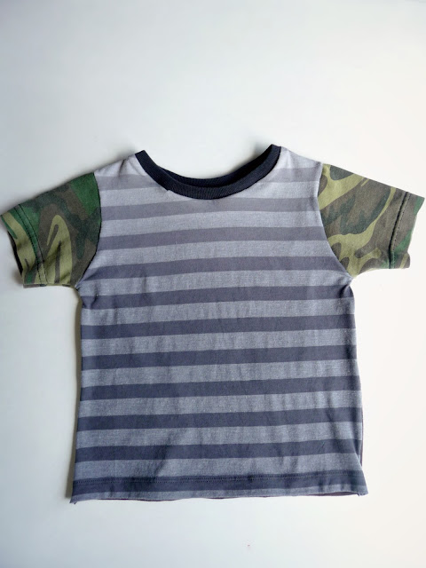T-shirt pattern making and sewing tutorial