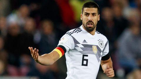 Sami Khedira trong màu áo tuyển quốc gia