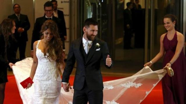 Lionel Messi Gelar Pernikahan di Abad Ini
