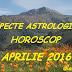Aspecte astrologice în horoscopul aprilie 2016