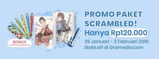 #Gramedia - #Promo Ekslusif Paket Scrambled Hanya 120K (s.d 03 Feb 2019)