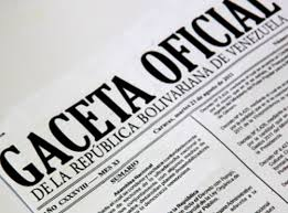 Léase SUMARIO Gaceta Oficial N° 41.301 15 de diciembre de 2017