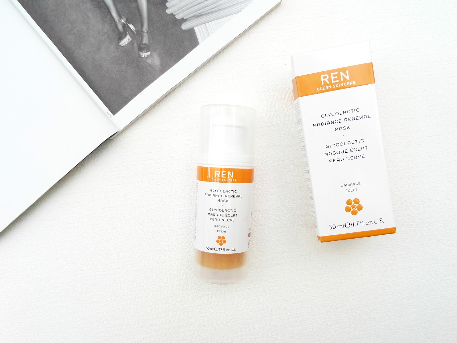 THE REN Glycolactic Radiance Renewal Mask