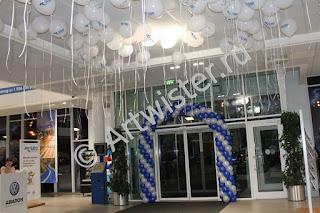 Гелиевые шары с логотипом компании