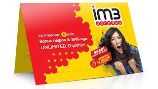 cara daftar paket internet im3 murah