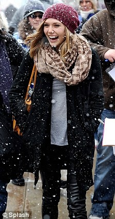 Chase Elliott T Shirt >> Style Inspiration: Leather and Olivia Palermo - Lake Shore Lady