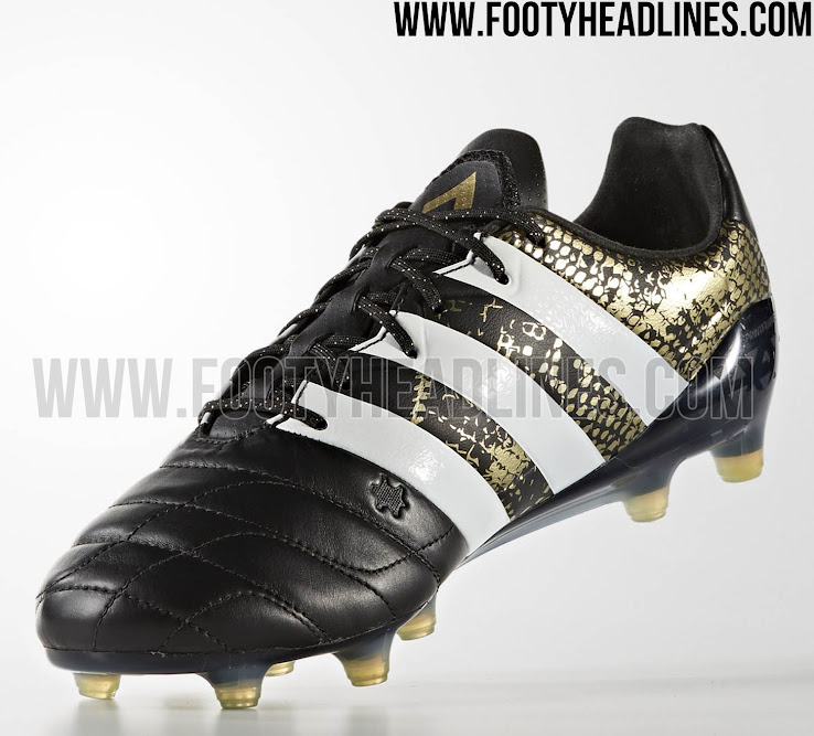 huge selection of 13d05 3dfcb ... cheapest black gold adidas ace 2016 2017 leather stellar pack boots  released footy headlines c9420 388b4