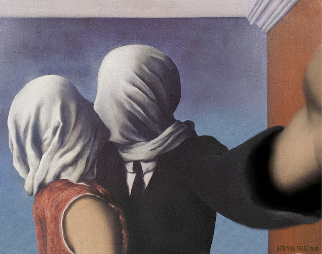 The Lovers 2 - René Magritte, 1928