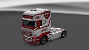 Scania RJL White Angel Skin