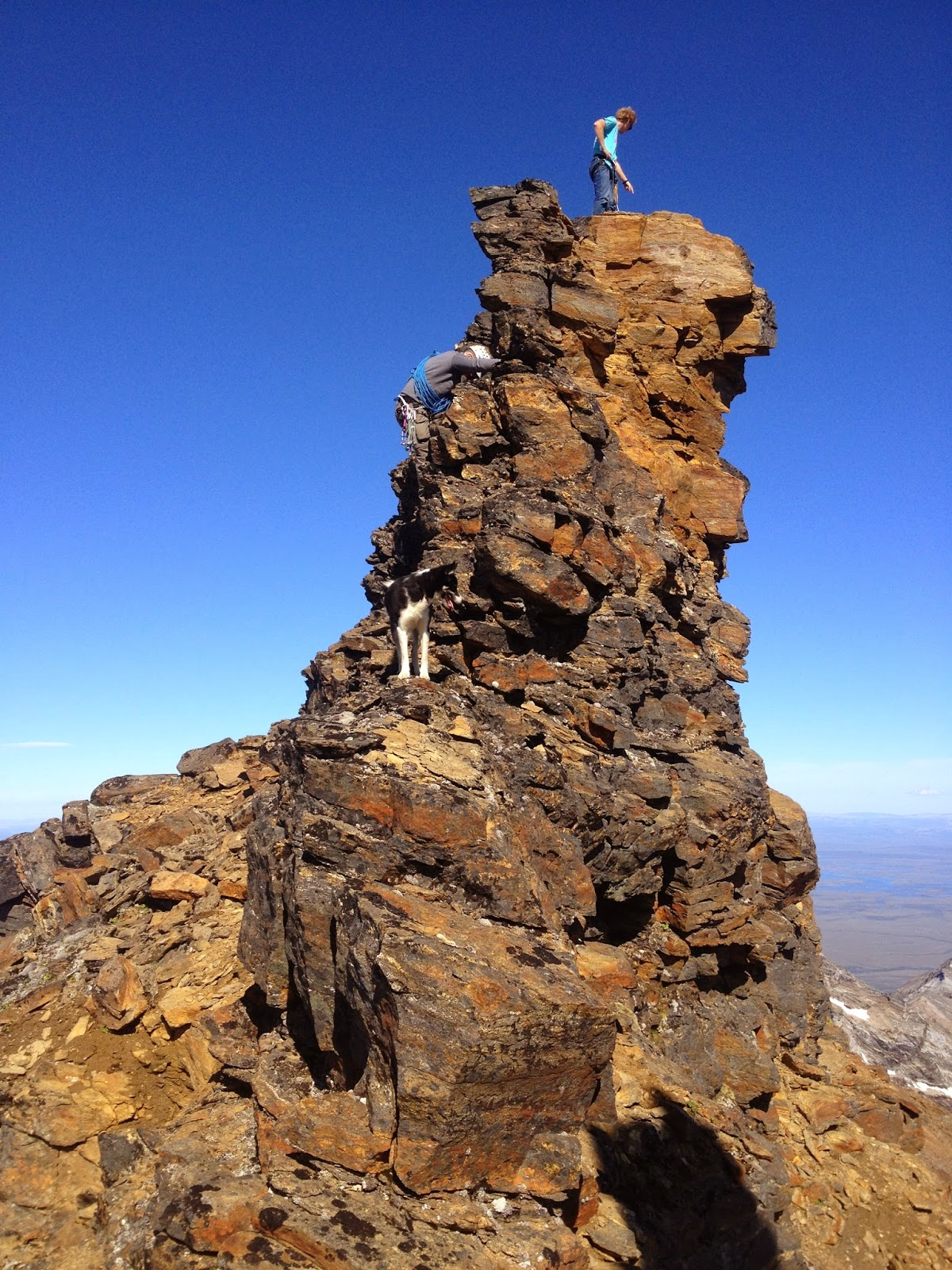 Mt. Osborn summit pinnacle