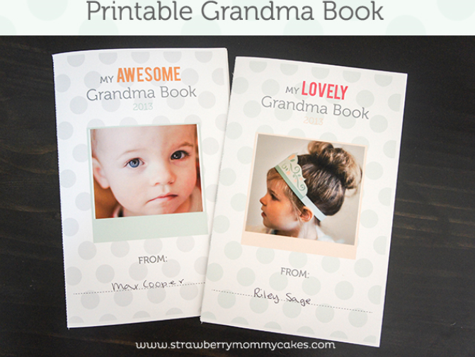 Printable scrapbook