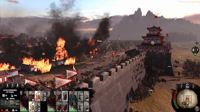 กองทัพ โจโฉ ตีเมืองแห้ฝือของ ลิโป้