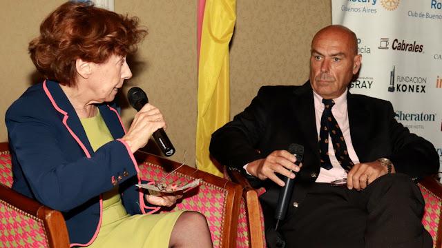 Carlos Newland en el Ciclo de Conferencias del Rotary Club de Buenos Aires