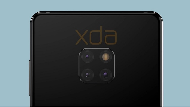 Huawei Mate 20 Leaked; Waterdrop Notch, Kirin 980, Triple Rear Cameras, and 4200mAh Battery?