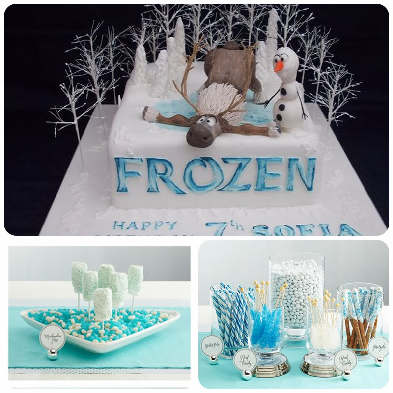 Frozen Party Cake Pops