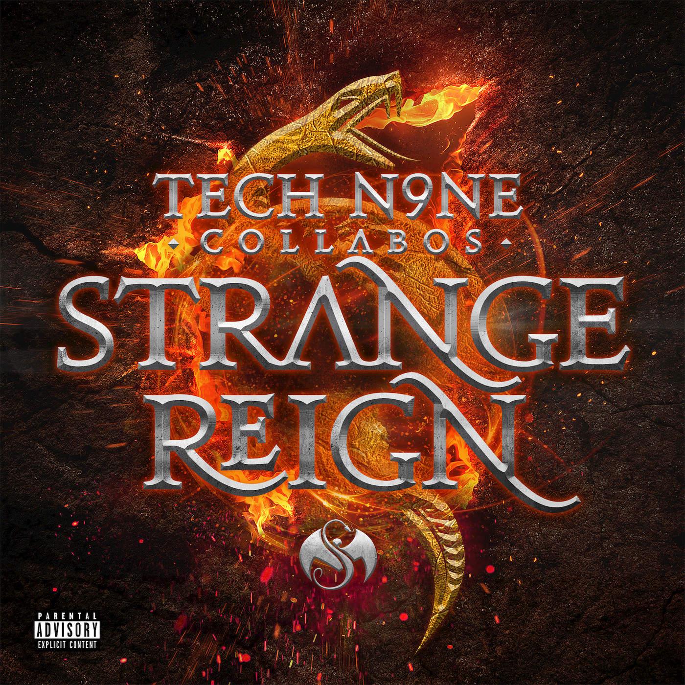 Tech N9ne Collabos - Strange Reign (Deluxe Edition) Cover
