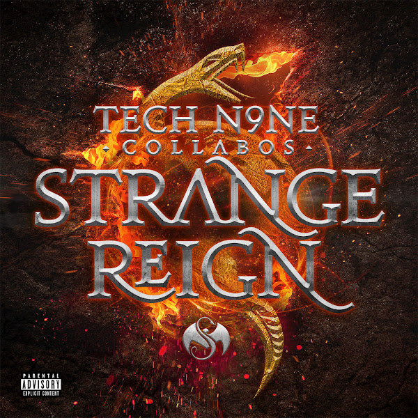 Tech N9ne Collabos - Strange Reign (Deluxe Edition) Cover