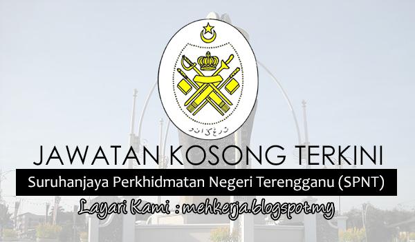 Jawatan Kosong Terkini 2017 di Suruhanjaya Perkhidmatan Negeri Terengganu (SPNT) MEHkerja