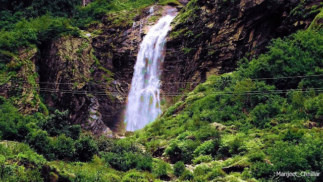Waterfall at Ghangria