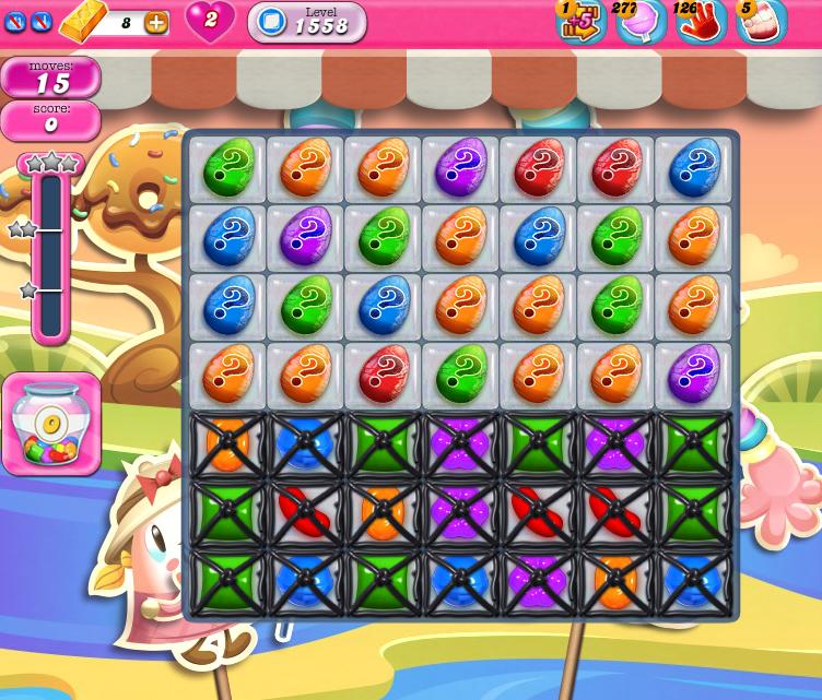 Candy Crush Saga 1558