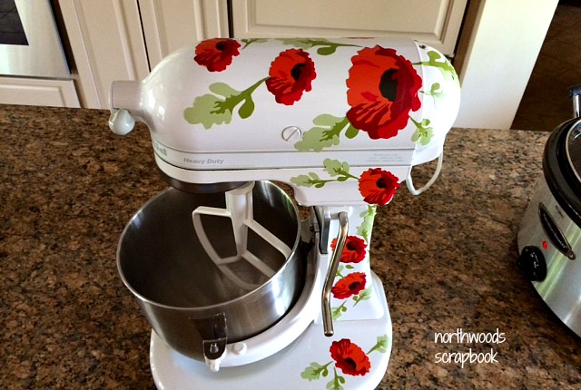 Kitchen Aid Mixer Cover Best Touchless Faucet Northwoods Scrapbook: Transformation
