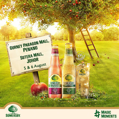 Free Somersby Malaysia Giveaway Promo