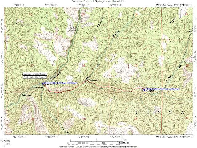 Katie Wanders : Fifth Water / Diamond Fork Hot Springs