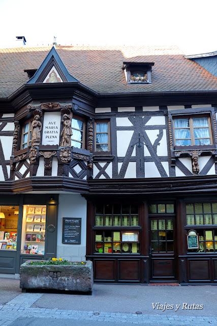 La casa de los ménétriers, Ribeauvillé