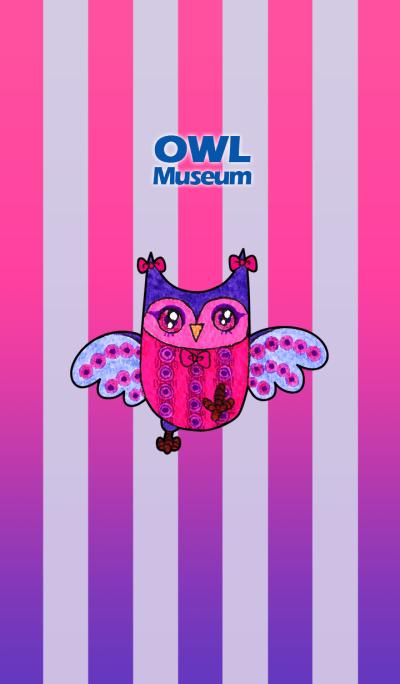 OWL Museum 100 - Flower Owl
