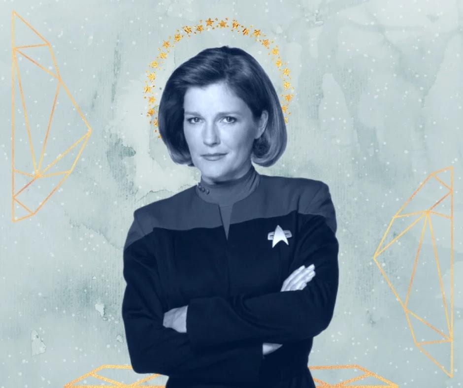 Janeway era a mãezona da Voyager?