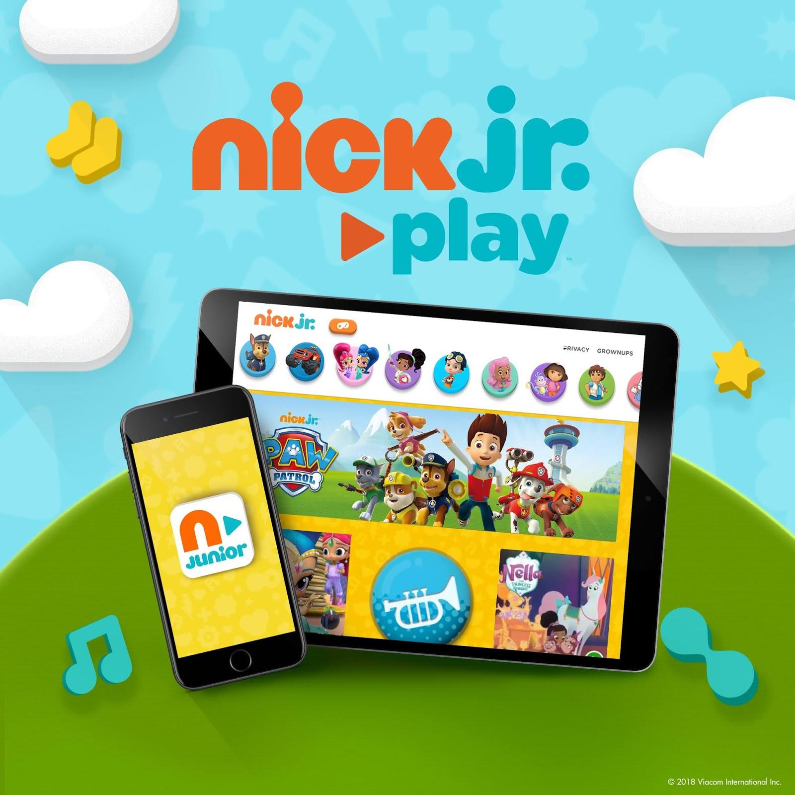 Nickjr Games Preschool